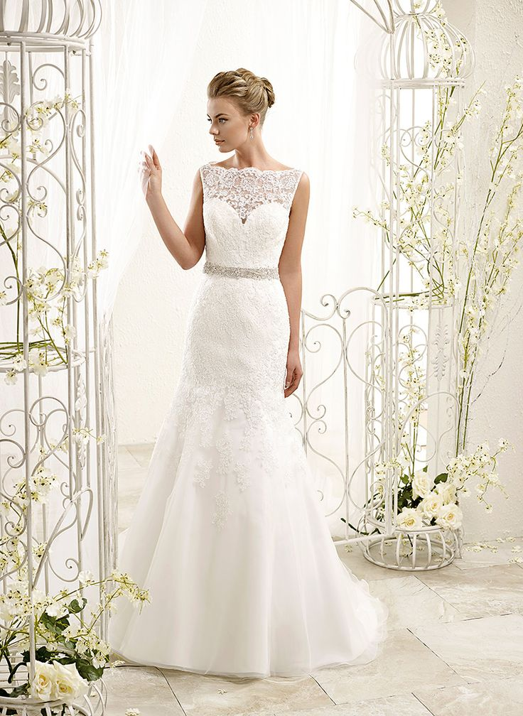ADK Style 77966  Fabric: Soft tulle over sparkling tulle skirt / Heavy beaded crystal belt built-in