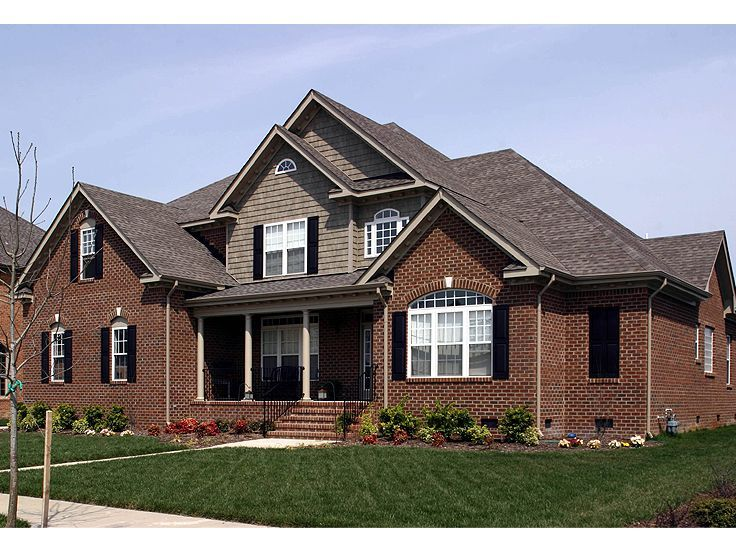 Best Red Brick House Images On Pinterest Red Brick Houses