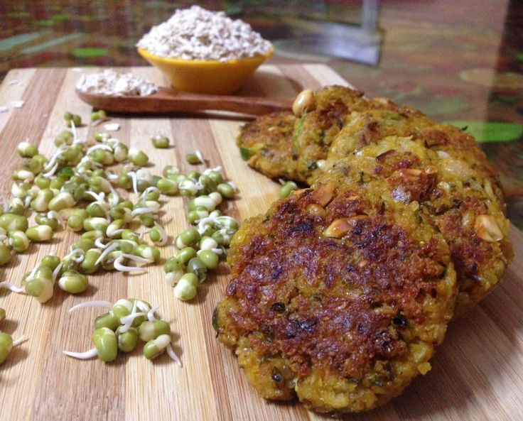 Sprouts Oats Tikki