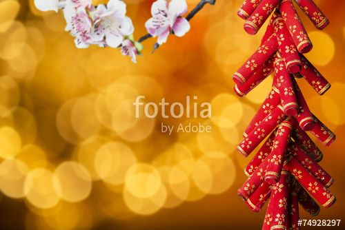 """Download the royalty-free photo """"Chinese new year's decoration"""" created by mountainscreative at the lowest price on Fotolia.com. Browse our cheap image bank online to find the perfect stock photo for your marketing projects!"""