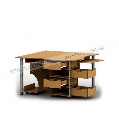 Стол комп. Тиса-04 НАЗНАЧЕНИЕ Для компьютера • Для ноутбука ТИП Угловой МАТЕРИАЛ ЛДСП ДЛИНА 1200 мм ШИРИНА 1200 мм ВЫСОТА 750 мм