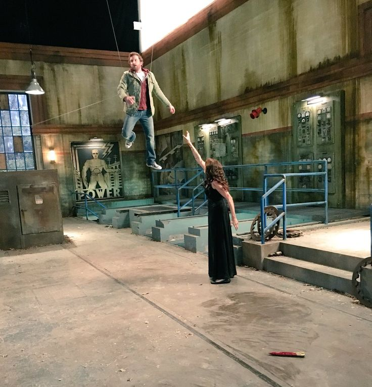 """Rob Benedict on Twitter: """"Another heartwarming family moment with #Amara and #Chuck. See how it ends tonight #Supernatural 9/8c @bigEswallz"""""""
