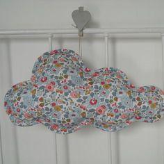 Nuage liberty betsy porcelaine, décoration à suspendre