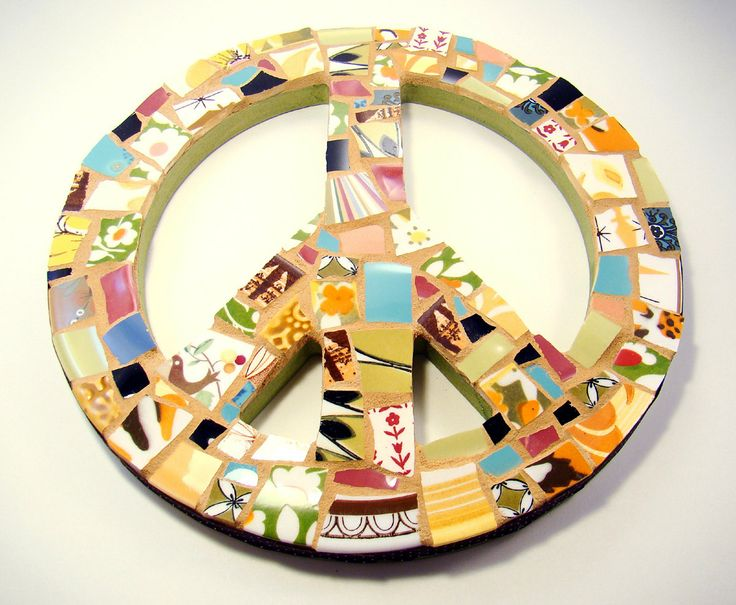 54 best Mosaic peace signs images on Pinterest | Peace signs, Mosaic ...