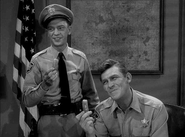 """Don Knotts particularly loved """"The Pickle Story,"""" which is an episode one that many fans cite as their favorite. In it, Aunt Bee makes a huge batch of pickles so disgusting that Barney refers to them as """"kerosene cucumbers."""" Due to a hilarious turn of events, Andy and Barney must consume eight quarts of the nasty pickles. The episode is chock full of laugh-out-loud moments, and it's quite clear that the men are honestly amused as they're filming it."""