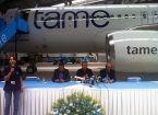 Llega a Quito nuevo avión Airbus A 320 para Tame EP