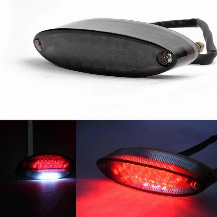 Aliexpress.com: Comprar Cafe Racer 28 LED de la motocicleta ATV Quad freno correr Tail matrícula luz 12 V de placa de intercambiador de calor fiable proveedores en Guang Zhou Sport City Co, Ltd