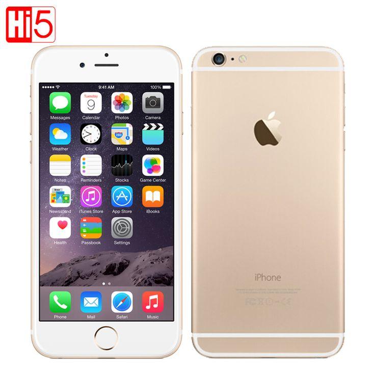"""Original Apple iPhone 6 Plus 4.7 & 5.5"""" cell phones Dual Core 64GB/128GB Rom IOS 8MP Camera 4K video LTE 1080P smartphone"""