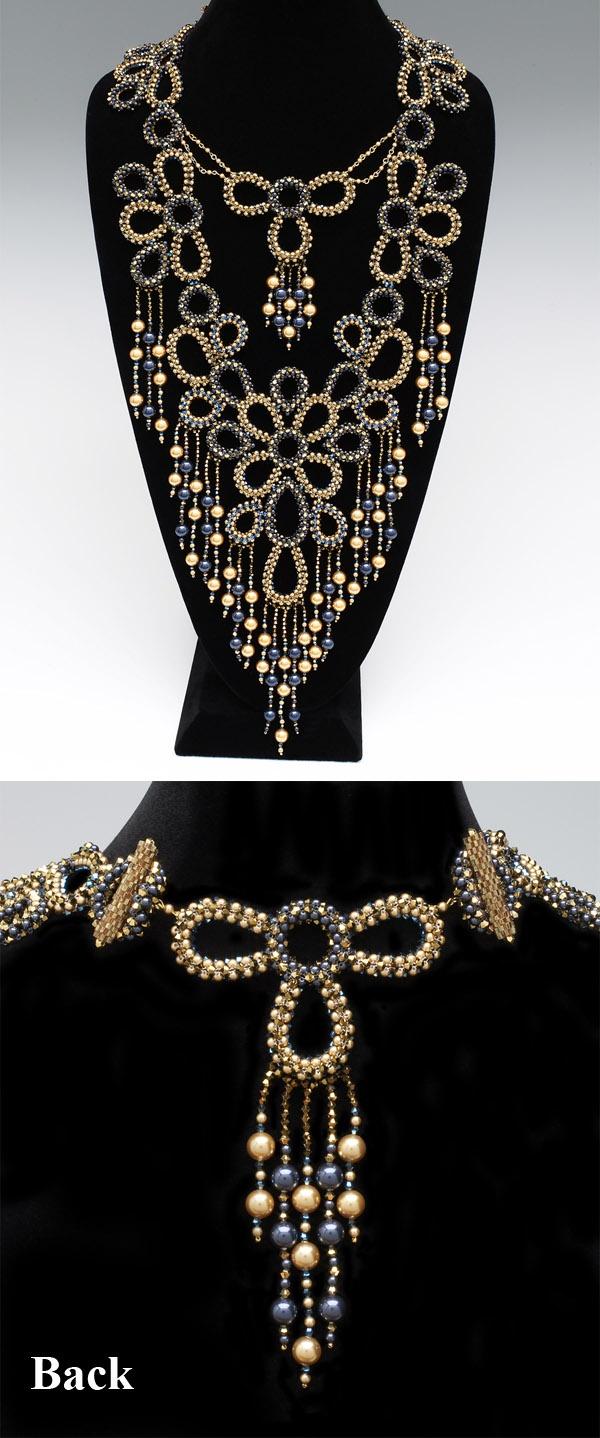 Necklace | Maiko Felton.  'Ocean Royal'
