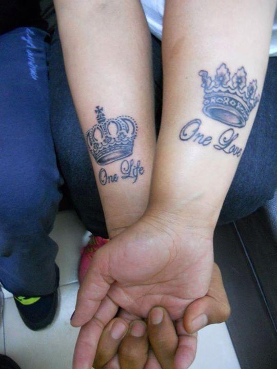 One Love-One Life Tattoo