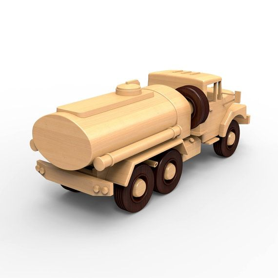 SALE 25% Wooden truck woodworking plans for DIY 05. by WoodenArmy
