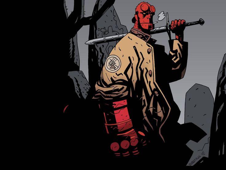 hellboy wallpaper for desktop background (Webber Chester 1920x1440)