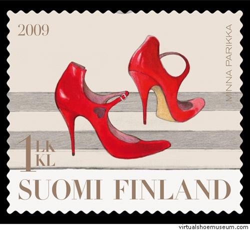 Starlet Postal Stamp Finland (Minna Parikka)
