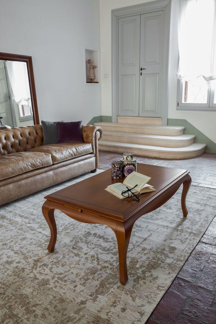 Tavolino in stile classico modello Venusia di Tonin Casa
