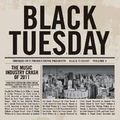 Black Tuesday refers to October 29, 1929, when panicked sellers traded nearly 16 million shares on the New York Stock Exchange (four times the normal volume at the time), and the Dow Jones Industrial Average fell -12%. Black Tuesday is often cited as the beginning of the Great Depression
