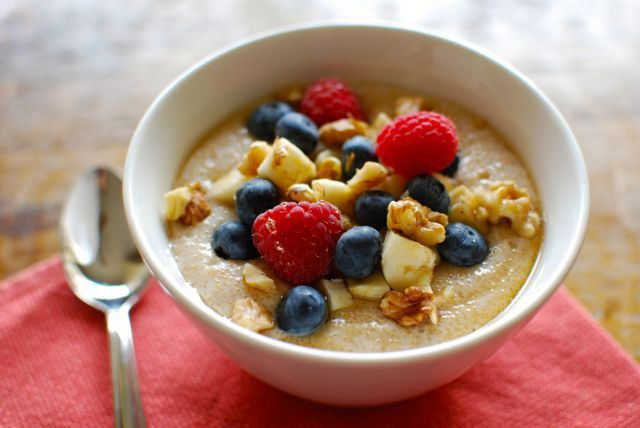 Creamy Amaranth Porridge - Eating Made EasyBreakfast Ideas, Grains Fre Breakfast, Amaranth Porridge, Food, Healthy Breakfasts, Porridge Recipe, Creamy Amaranth, Kitchens Daily, Oatmeal Substitute