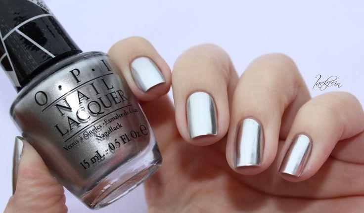 lackfein: OPI Metallic Chrome Nails