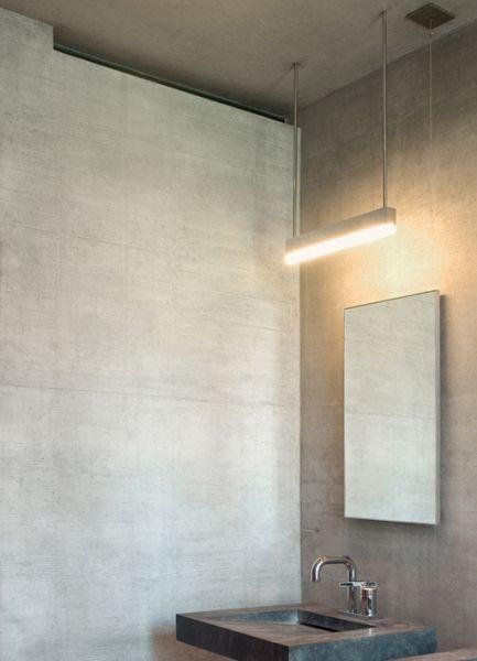 Superb Bathroom detail Private House of Peter Zumthor Haldenstein Switzerland