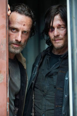 Photo and flats Dead Episode   Dixon Andrew   Walking as Lincoln   Credit  _ Norman Rick Season as Reedus The Grimes Page AMC Gene shoes cheap Daryl