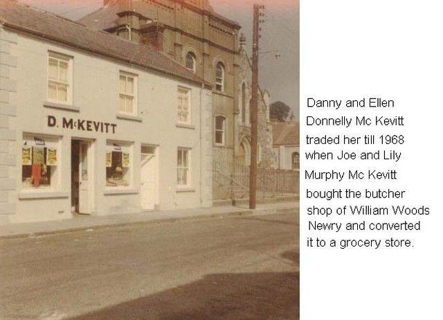 Mc Kevitt Donnolly shop Daniel