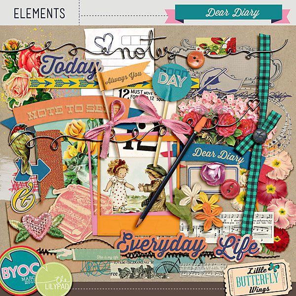 87 Best Digital Scrapbooking Kits Images On Pinterest Scrapbooking