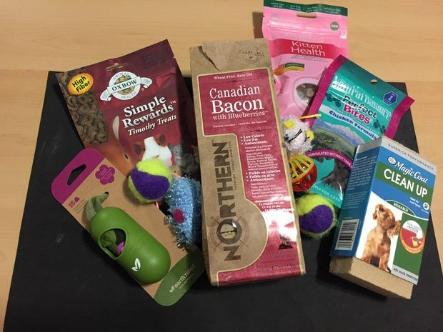 A bag full of goodies for our home full of animals! - Presents for Pets 2016 - redditgifts