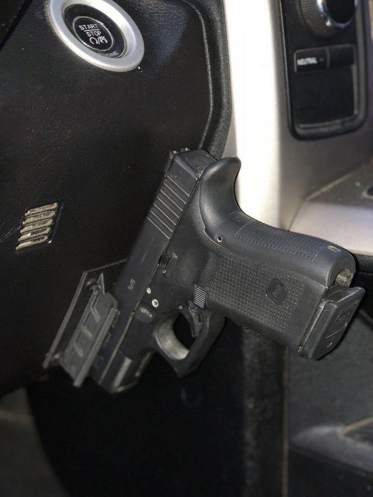 QuickDraw Hand guns, Guns, Car holster