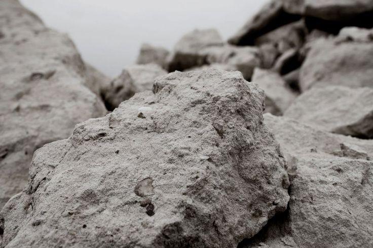 Fibre cement raw materials: limestone. EQUITONE facade.