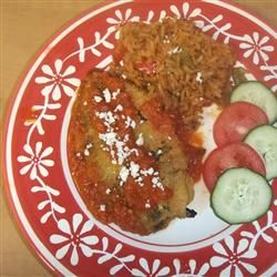 Authentic Mexican Chili Rellenos Recipe : Add a wee bit more salt to the batter and don't rinse the peppers. It washes away to smoky charred flavor. Maybe add an extra egg to batter, a bit skimpy to coat all the chils.  Maybe use Hatch Chile peppers?