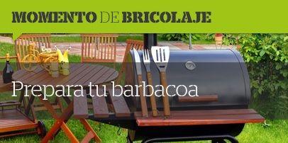 🔥🍖Momentos de #Bricolaje🍖🔥Aprende a dominar el arte de la #barbacoa siguiendo nuestros #consejos 🍴