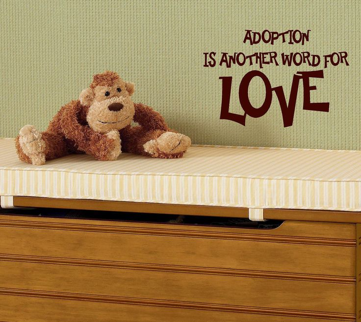 Adoption is another word for love children by itswritteninvinyl