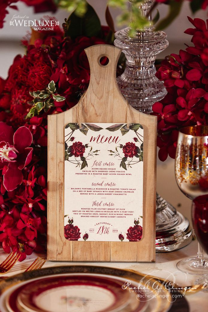 This whole design… oh my! Autumn Romance, A Beautiful Fall Wedding Creative - Wedding Decor Toronto Rachel A. Clingen Wedding & Event Design