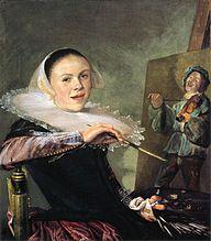 Judith Leyster. Autorretrato a los 21 años, 1630, en Galería Nacional de Arte de Whasington.  Nacimiento28 de julio de 1609  Haarlem  Fallecimiento10 de febrero de 1660, 50 años  Heemstede  Nacionalidadholandesa  Áreapintura