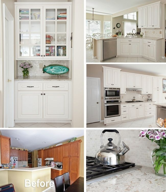 Diy Refacing Kitchen Cabinets Ideas: 17 Best Images About Cabinet Refacing On Pinterest