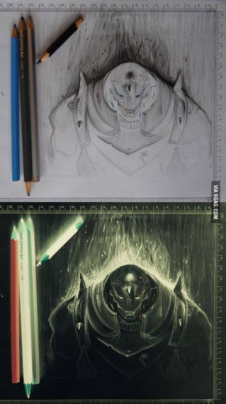 Saw a negative drawing here, I thought I should share mine as well. fma fans?<<< THIS IS FREAKING AMAZING WHAT THE HELL