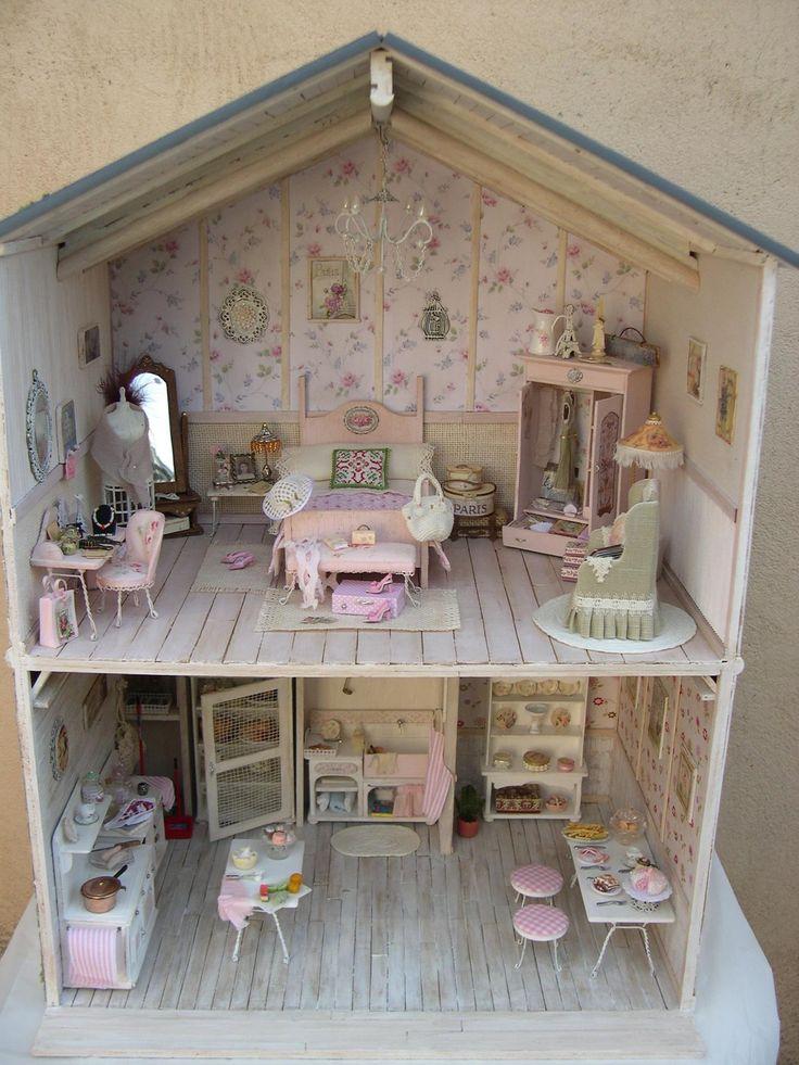картинки дома для кукол внутри отправилась торжество, чтобы