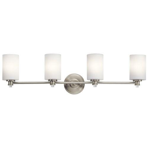 Bathroom Lighting Brushed Nickel best 25+ led bathroom lights ideas on pinterest | mirror with led