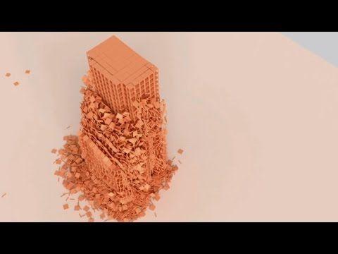 Bullet Physics - Over 50,000 Planks - YouTube