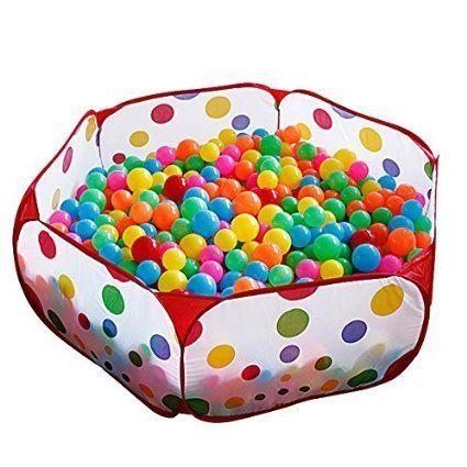 mudder nios tienda del juego plegable piscina de pelota parque bolas piscina pozo con