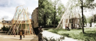 Sticks - Archkids. Arquitectura para niños. Architecture for kids. Architecture for children.