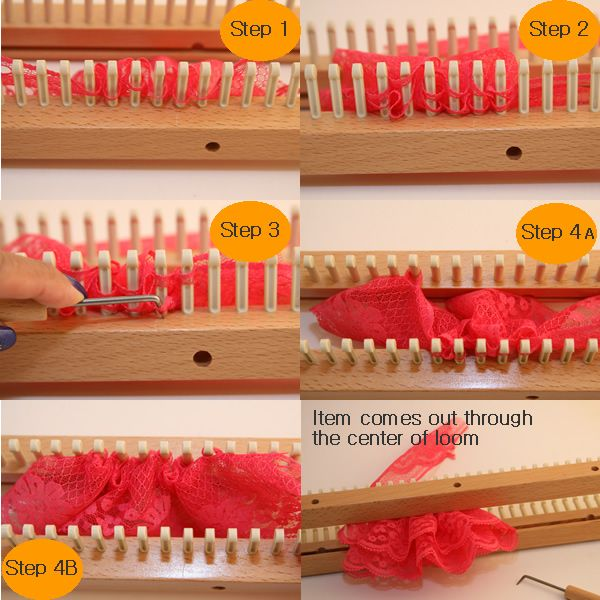 39 Best Looming Stitches Picture Tutorials Images On Pinterest