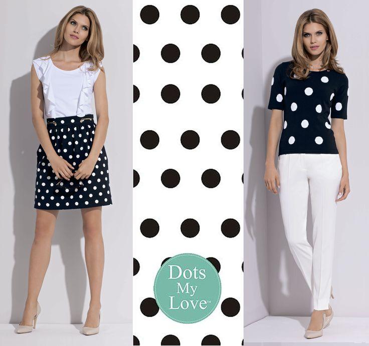 spots, spots, spots are so classic as fashion