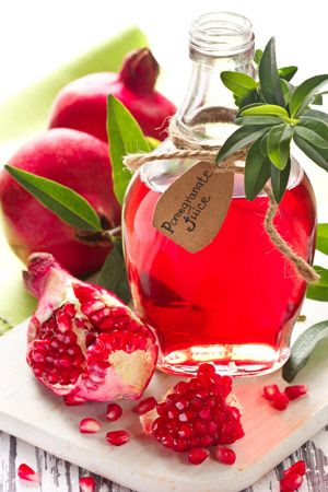Making your own fresh homemade pomegranate juice is easy and the flavor is amazing. One medium size pomegranate will yield approximately half a cup of juice.  In the fall, pomegranates are frequently on sale for as little as .50 each!
