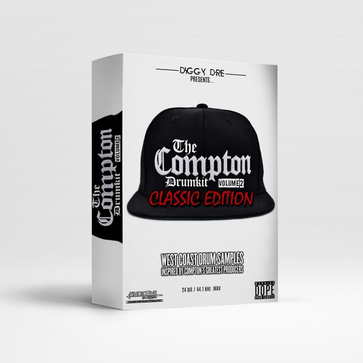 Image of THE COMPTON DRUM KIT VOL.2 (CLASSIC EDITION)