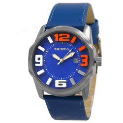 Prisma horloge 33S631801 Sport  3D Blauw