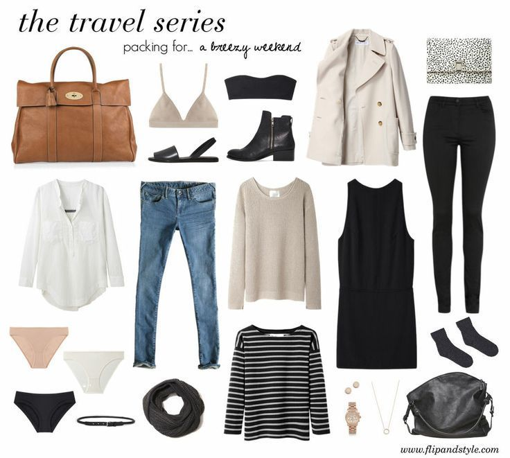 Packing For A Breezy Weekend My Style Pinboard Pinterest Travel Wardrobe Fashion And Style