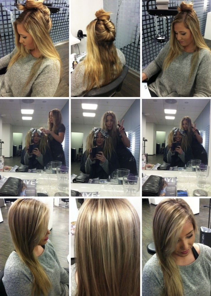 fun at the salon, beautiful color change, still blonde, highlights, lowlights