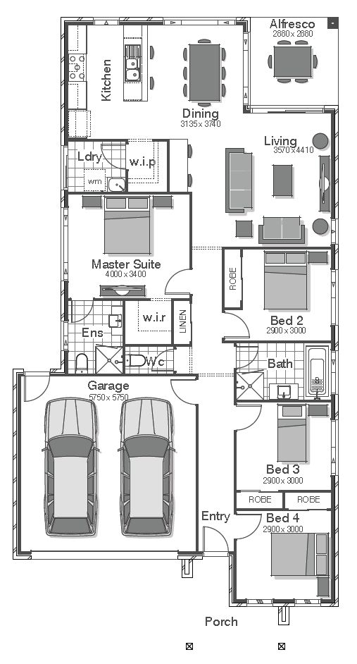40 best images about architecture residential layout on for Different floor plans for homes