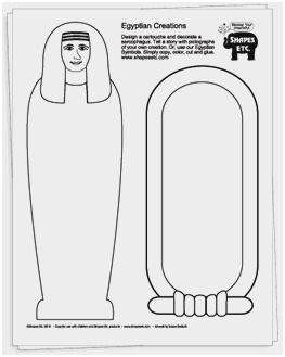Avery 5352 Template Pretty Egyptian Mummy Template Template Design