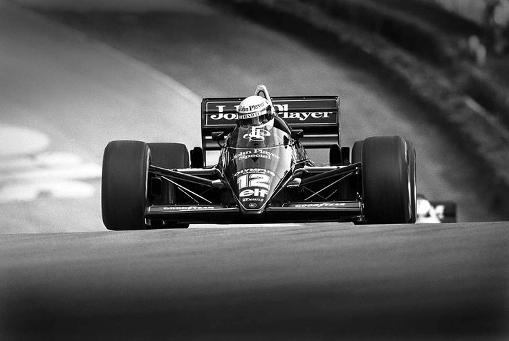 F1. Ayrton Senna Lotus 97T. Cars like the 97T used a turbo charged 1.5L engine. Some capable of 1300BHP and just under 220mph.